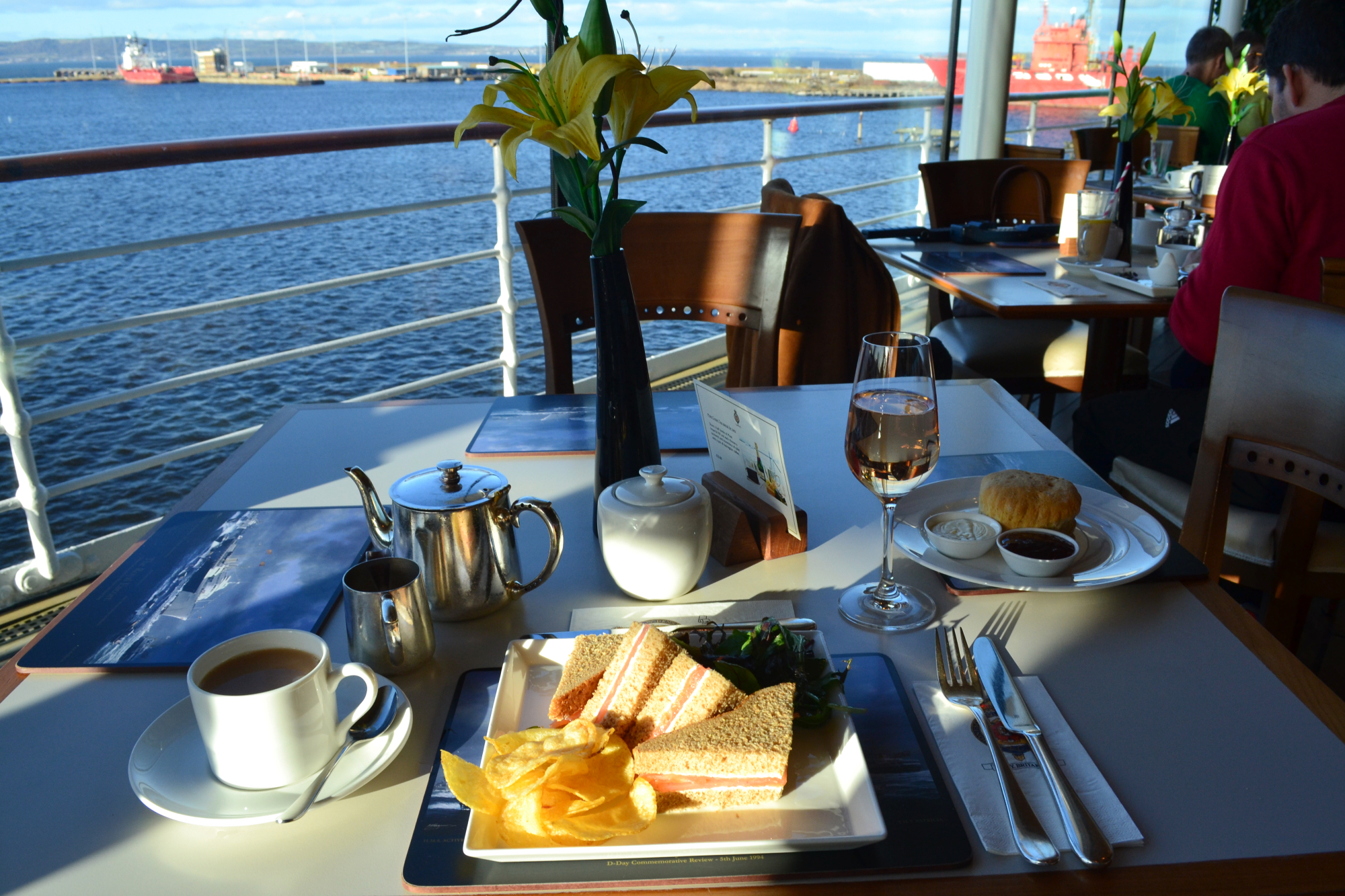 Royal Yacht Britannia Tea Time